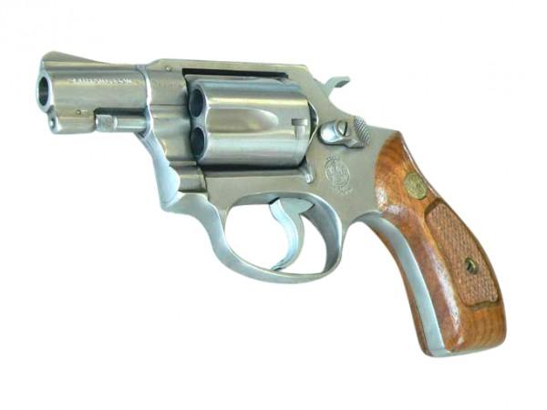 Doppel-Action Revolver Smith & Wesson Mod. 60, Kaliber -38 Spez.
