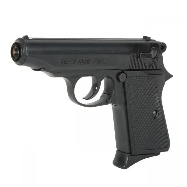 ME 9 Mod. Para, Kal. 9 mm P. A. Knall, schwarz brüniert