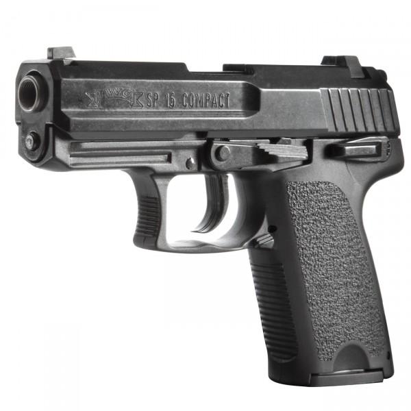 IWG SP 15 Compact, Kal. 9 mm P.A. Knall, schwarz brüniert