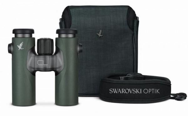 Swarovski CL Companion 10x30 B grün + WN Wild Nature Zubehörpaket