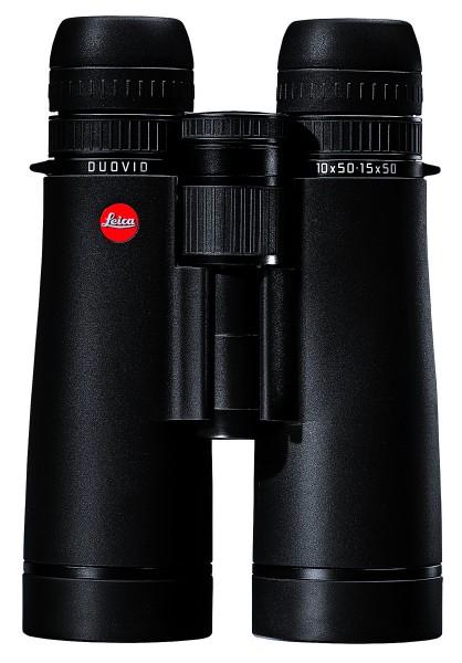 Leica DUOVID 10+15x50, schwarz Fernglas