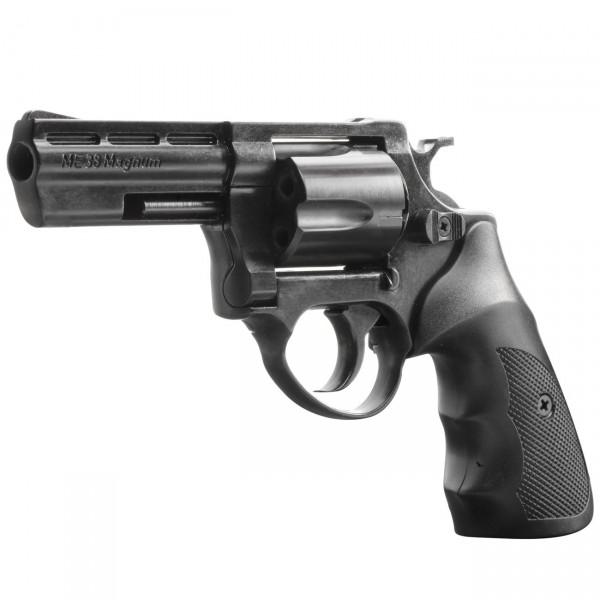 ME 38 Magnum, Kal. .380 / 9 mm R Knall, schwarz brüniert