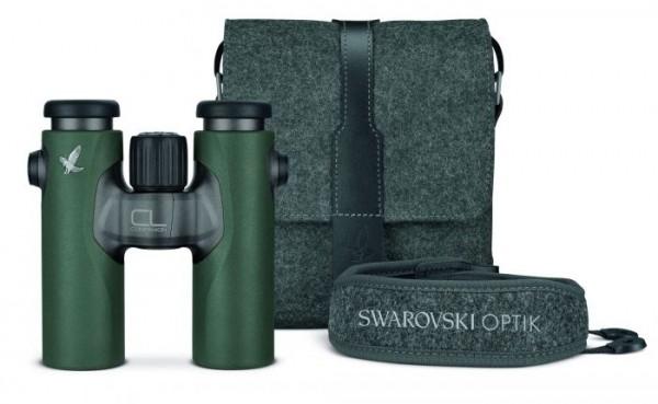 Swarovski CL Companion 10x30 B grün + NL Northern Lights Zubehörpaket