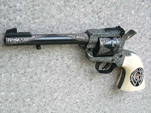 Ein Paar Revolver Cuno Melcher ME6, Kal. 6 mm Flobert