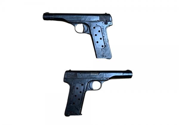 Pistole Nationale d´armes de guerre herstal belqique Kal.7.65mm