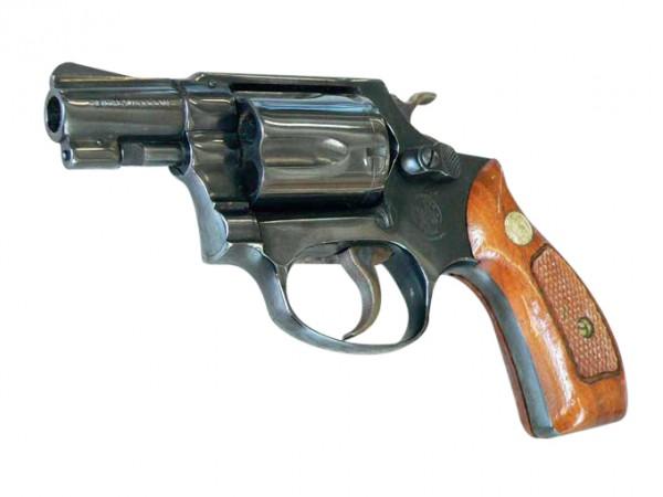 Doppel-Action Revolver Smith & Wesson Mod. 36, Kaliber .38 Spez.
