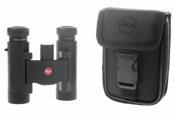 Leica ULTRAVID 10x25 BR Aqua Dura, schwarz Kompaktfernglas